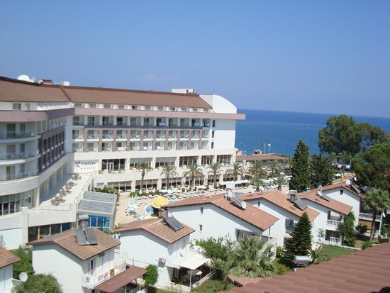 Barut Kemer : The view from the Mountain View room 2