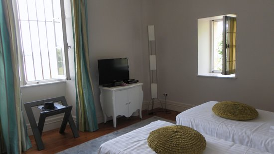 Chateau de Courtebotte: 2ème chambre suite Capri
