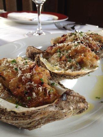 Emeril's Delmonico: Baked Oysters Valentines