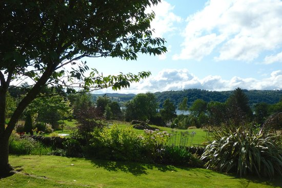 The Ryebeck: View over Windermere from hotel
