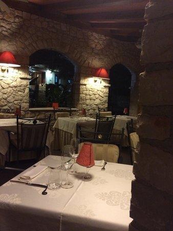San Rocco Hotel and Restaurant: Le restaurant