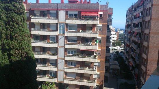Hotel Bon Repos: вид на море с 4 этажа