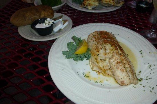 St. Michaels Crab & Steak House: Rockfish