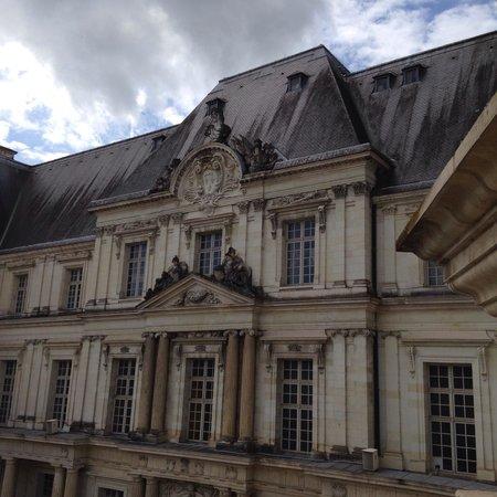 Chateau Royal de Blois : Vista del partió interior del Castillo