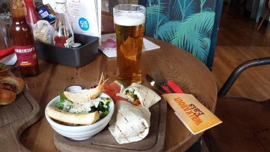 Walkabout Derby: My meal