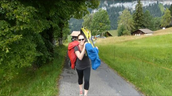 Hang Gliding Interlaken: Getting up the mountain (it's not hectic...promise!)