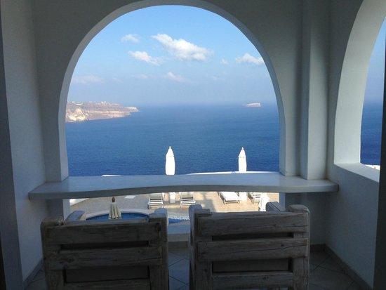 Athermi Suites: our balcony