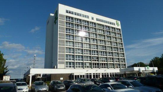 Holiday Inn Southampton: Aussenansicht von der Strassenseite