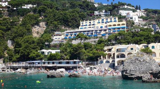 Hotel Weber Ambassador Capri: paesaggio unico
