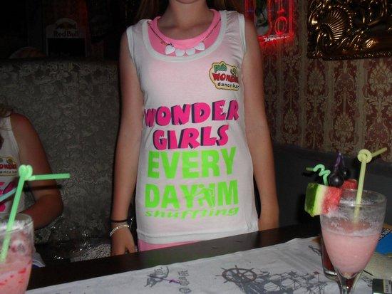 Wonder Dance Bar: t-shirt