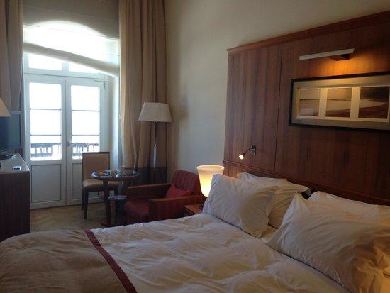 Sofitel Grand Sopot: Our room. Comfy bed