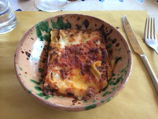 Tenuta Casanova : Lasagna