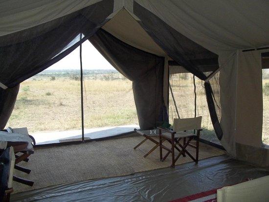 Olakira Camp, Asilia Africa: Sitting area