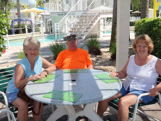 Holiday Inn Club Vacations Cape Canaveral Beach Resort: Ready for a game of Bingo