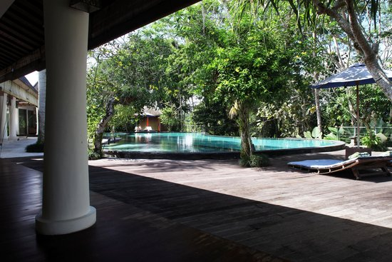 Pandawas Villas : tranquil pool view from my room