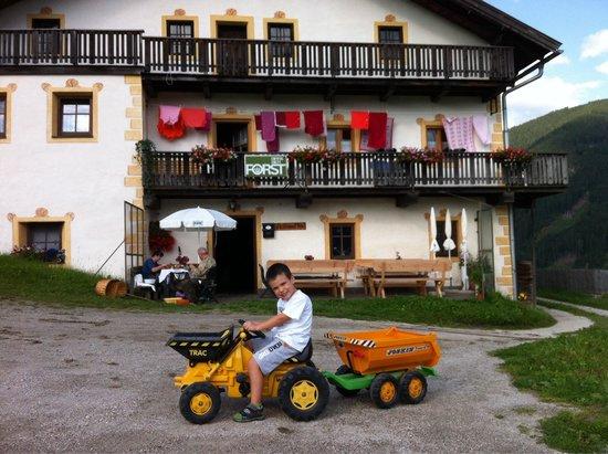 Gostnerhof : Il piccolo Mattia