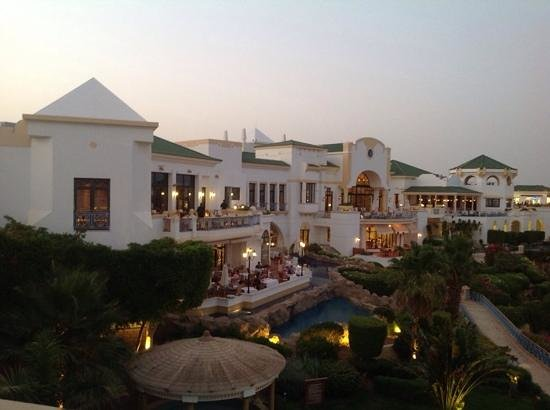Hyatt Regency Sharm El Sheikh Resort : хаятт перед ужином