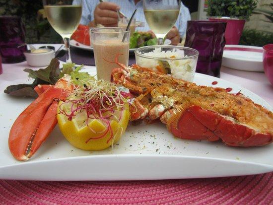 L'Auberge Normande: hummmmmmmmmm ce homard grillé !
