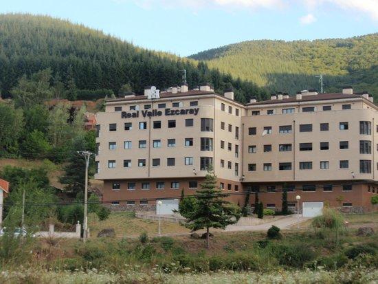 Real Valle Ezcaray : Desde la carretera