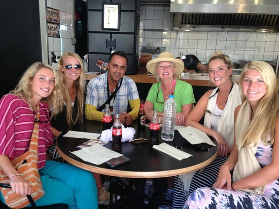 Rent a Guide Israel Tours: Meni and the Howard Girls