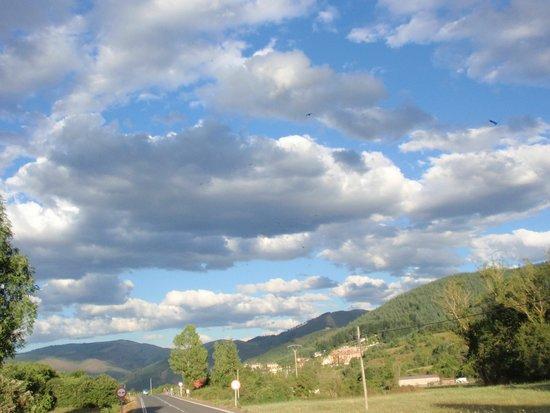 Real Valle Ezcaray : Vista desde la habitación