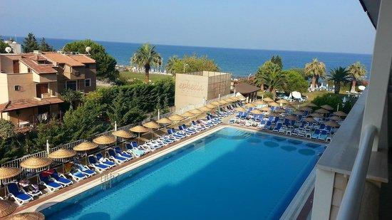 Ephesia Resort Hotel: View from balcony