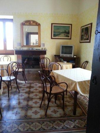 Baglio San Pietro: Sala colazione