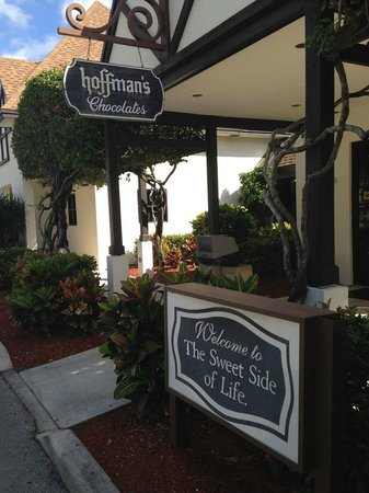 Hoffman's Chocolate Factory, Shoppe, Ice Cream Parlour and Gardens