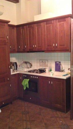 Afroditi Hotel: Кухня