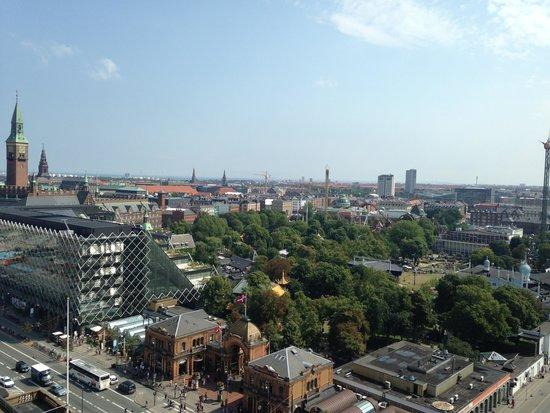 Radisson Blu Royal Hotel Copenhagen: Room view