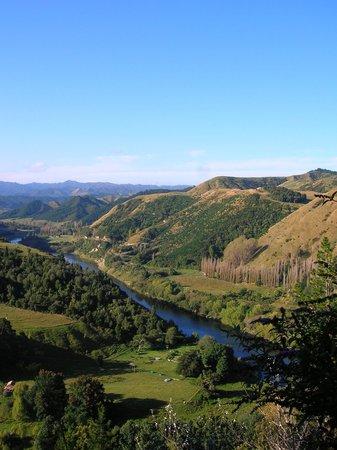 Whanganui River Aramoana lookout