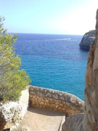 Blau Punta Reina Resort: Vista mare...