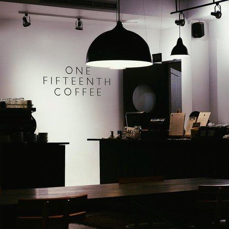 1/15 - One Fifteenth Coffee: 1/15 coffee