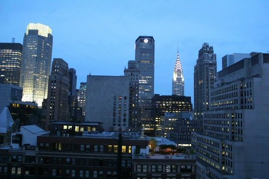 Sofitel New York: Evening view from the Terrace