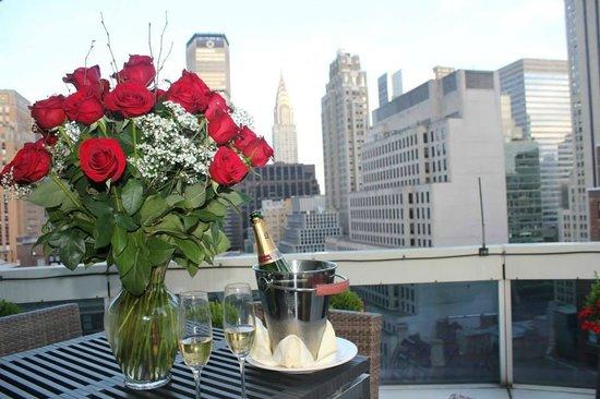 Sofitel New York: Spectacular view!