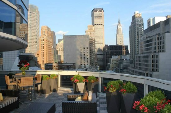 Terrace view picture of sofitel new york new york city for Terrace new york