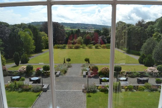 Castle Durrow : room with a view