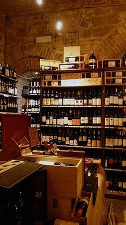 Enoteca la Fortezza di Montalcino: Enoteca