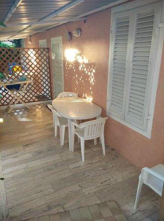 Residence Hotel Villa Mare : Veranda