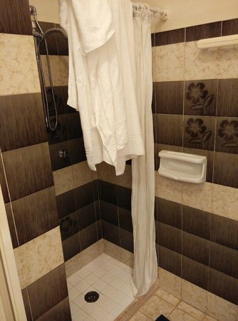 Residence Hotel Villa Mare : Doccia