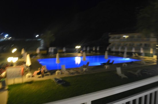 SunConnect Kolymbia Star: the pool at night