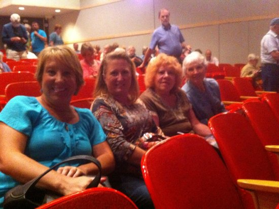 Creede Repertory Theatre : 3rd row seating at CRT