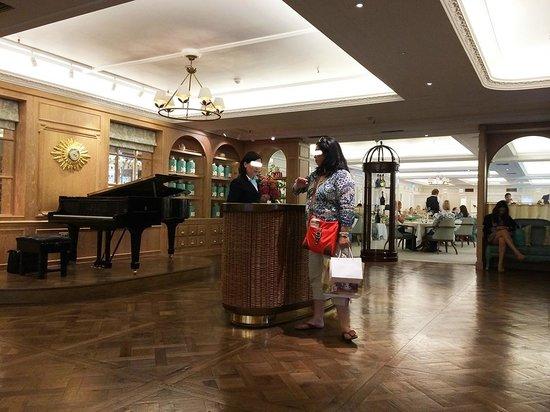 The Diamond Jubilee Tea Salon: l'entrée