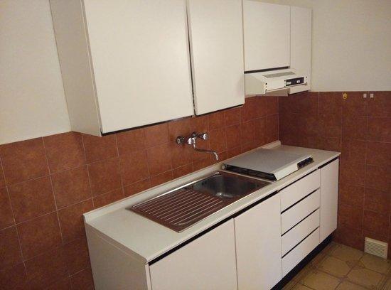 Residence Hotel Villa Mare : Cucina