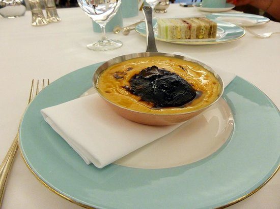 The Diamond Jubilee Tea Salon: l'omelette homard et truffe