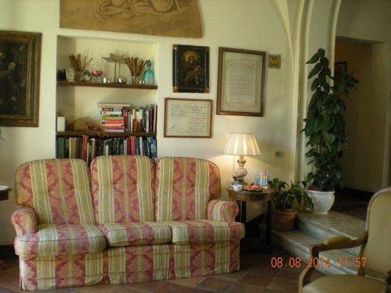 Hotel Santa Caterina: Living
