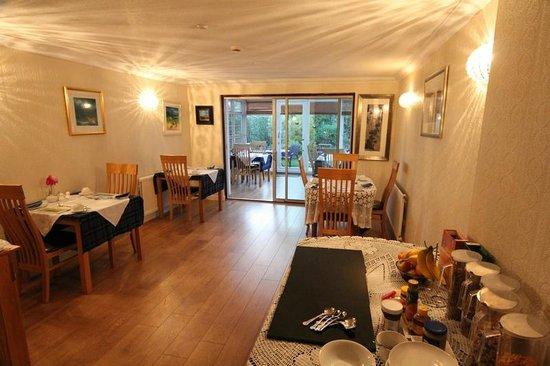 St Ann's House: The breakfast room