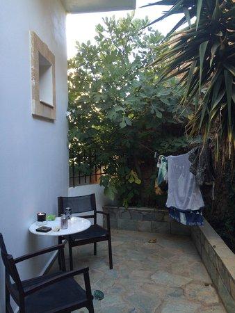 Philipos Studios and Apartment : Room 4 private terrace