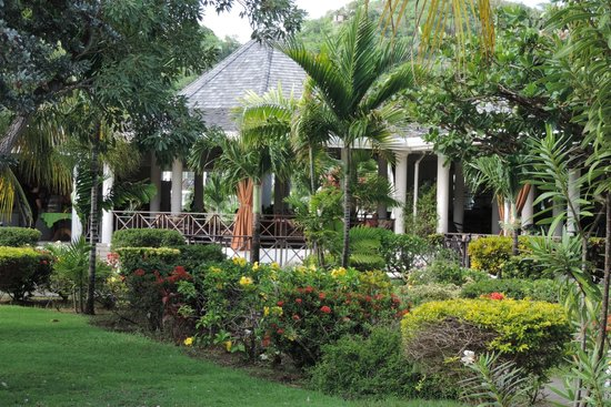 Coyaba Beach Resort: gardens