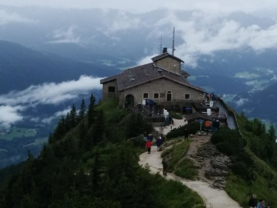 Kehlsteinhaus: View from above